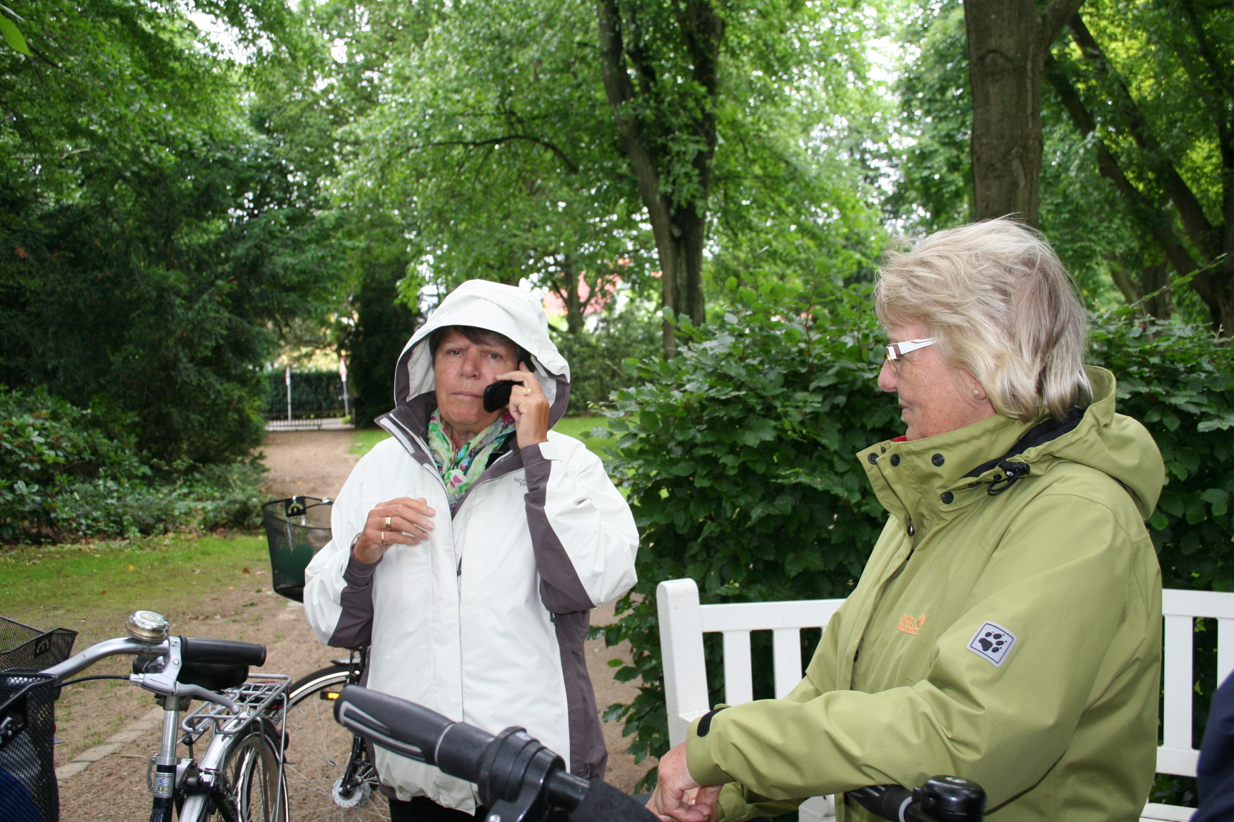 50+ Organisierte die Radtour 2013: Christel Bätker